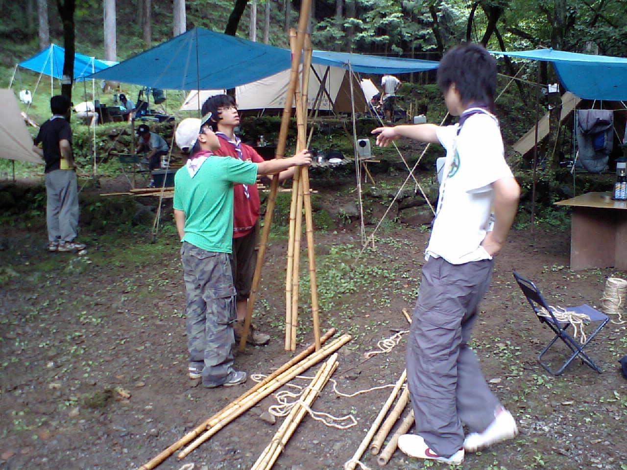 090725夏キャンプ2日目